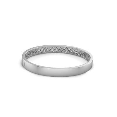 Photo de Bracelet jonc Aukje 7mm 950 platine