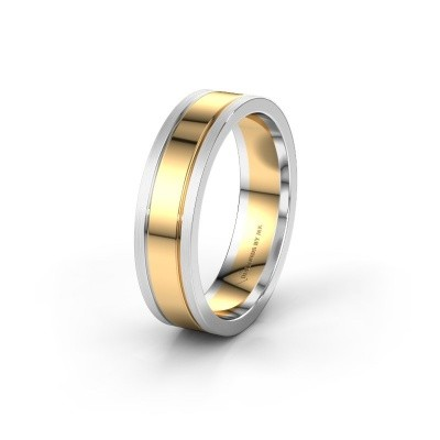 Wedding ring WH0404M16A 585 gold ±6x1.7 mm