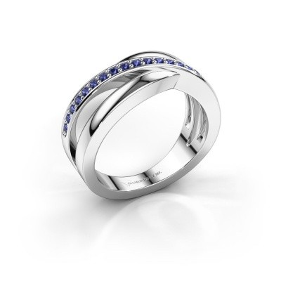Picture of Ring Colette 925 silver sapphire 1.3 mm