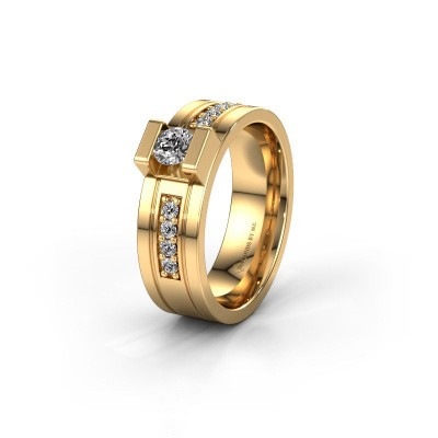 Trouwring WH2092L16BP 585 goud diamant ±6x2 mm
