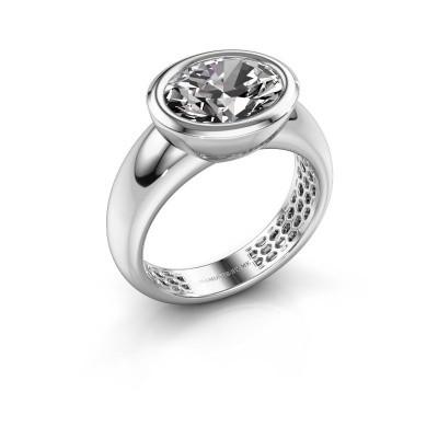 Ring Evelyne 925 silver lab grown diamond 2.70 crt