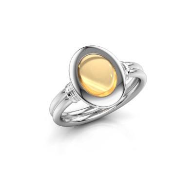Bild von Ring Brittni 925 Silber Citrin 9x7 mm