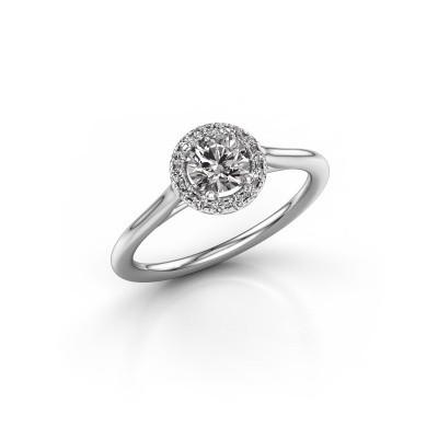 Foto van Verlovingsring Seline rnd 1 950 platina diamant 0.605 crt