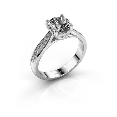 Picture of Engagement ring Mia 2 925 silver diamond 1.00 crt