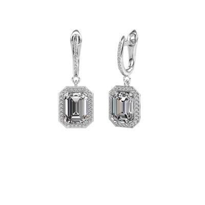 Foto van Oorhangers Dodie 2 585 witgoud lab-grown diamant 5.345 crt
