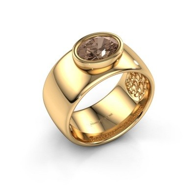 Ring Anouschka 585 Gold Braun Diamant 1.15 crt