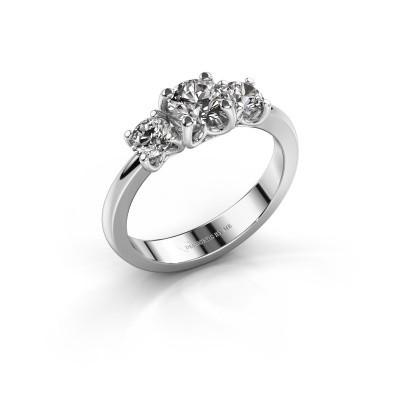 Foto van Verlovingsring Detra 925 zilver diamant 1.00 crt