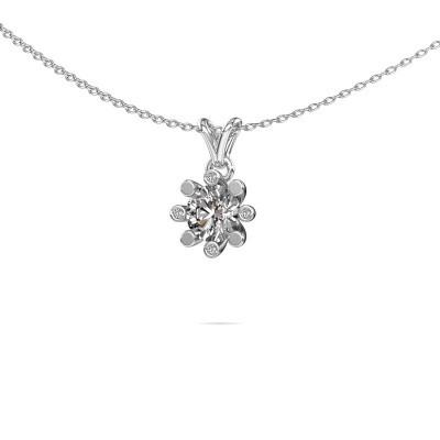 Foto van Hanger Carola 2 585 witgoud lab-grown diamant 0.80 crt