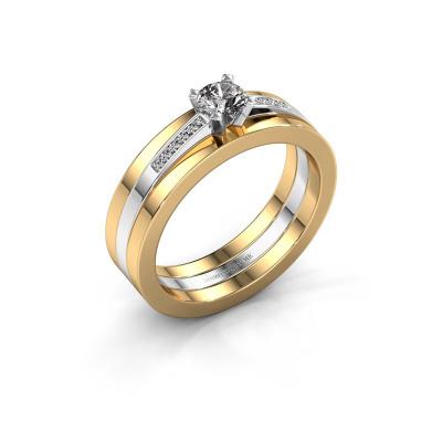 Verlobungsring Celeste 585 Weißgold Diamant 0.275 crt