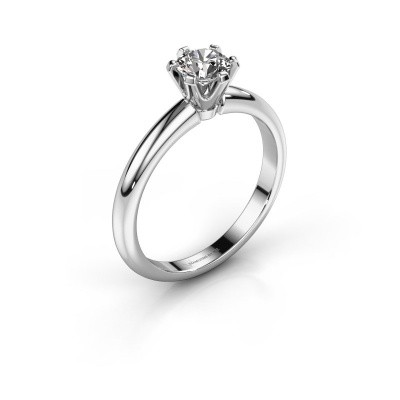 Picture of Engagement ring Tiffy 1 925 silver lab-grown diamond 0.50 crt