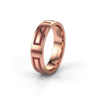 Wedding ring WH2228M25A 375 rose gold ±0.20x0.07 in
