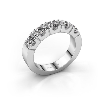 Engagement ring Dana 5 585 white gold diamond 1.50 crt