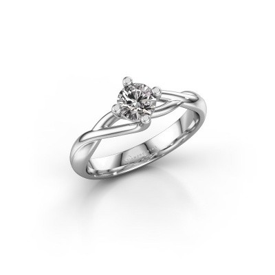 Picture of Ring Paulien 950 platinum diamond 0.50 crt