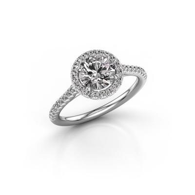 Foto van Verlovingsring Marty 2 585 witgoud lab-grown diamant 1.360 crt