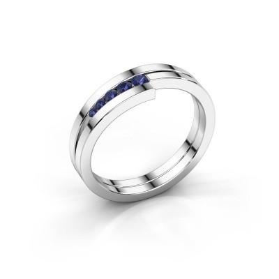 Foto van Ring Cato 925 zilver saffier 2.2 mm
