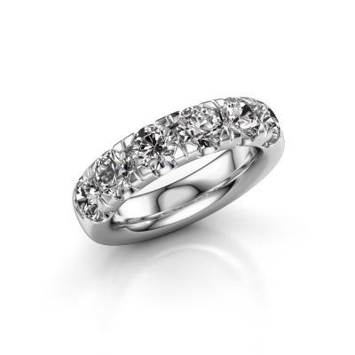 Aanschuifring Jackie Half 585 witgoud diamant 2.40 crt