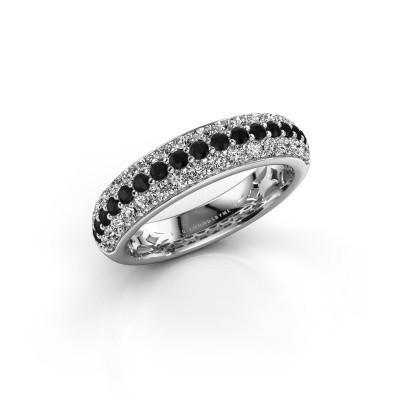 Picture of Ring Emely 6 925 silver black diamond 1.02 crt