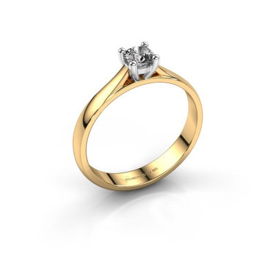 Picture of Engagement ring Sam 585 gold diamond 0.30 crt