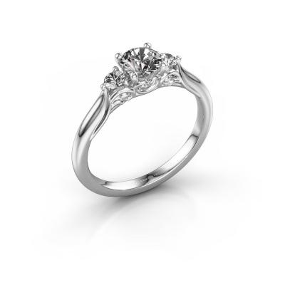 Foto van Verlovingsring Laurian RND 585 witgoud diamant 0.70 crt