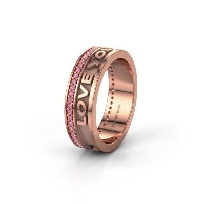 Wedding ring Namering 2 375 rose gold ±6x2 mm