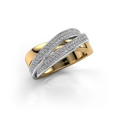 Picture of Ring Myra 585 gold zirconia 1 mm