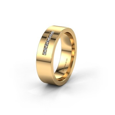 Ehering WH0108L16BP 375 Gold Zirkonia ±6x2 mm