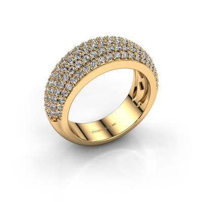 Foto van Ring Cristy 375 goud diamant 1.425 crt
