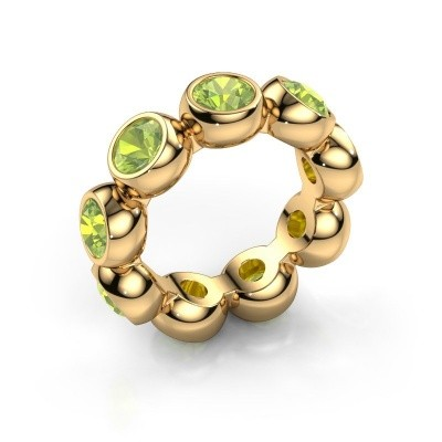 Picture of Ring Renea 585 gold peridot 5 mm