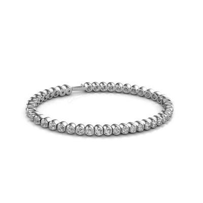 Bild von Tennis Armband Bianca 3 mm 585 Weißgold Diamant 4.40 crt