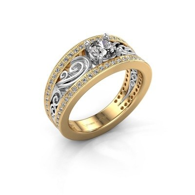 Foto van Verlovingsring Julliana 585 goud lab-grown diamant 0.91 crt