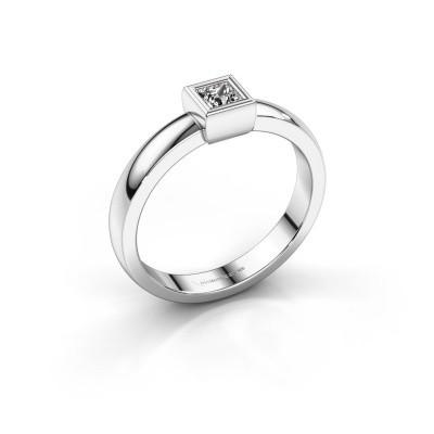 Foto van Ring Aimee 1 585 witgoud lab-grown diamant 0.17 crt