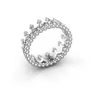 Ring Star 950 platina