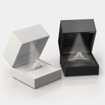 Giftbox wedding rings 4