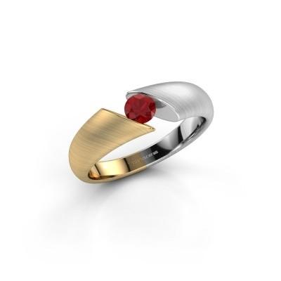 Foto van Verlovingsring Hojalien 1 585 goud robijn 4 mm