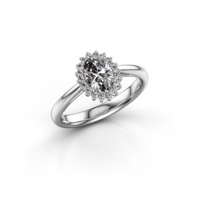Picture of Engagement ring Tilly 1 950 platinum lab created 0.935 crt