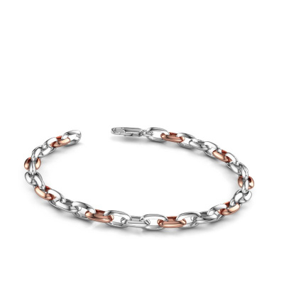 Picture of Bracelet oval link 1 6.0 585 white gold ±0.24 in