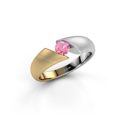 Picture of Ring Hojalien 1 585 gold pink sapphire 4.2 mm