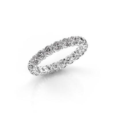 Foto van Ring Heddy rnd 2.9 585 witgoud lab-grown diamant 1.995 crt