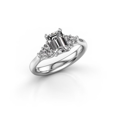 Foto van Verlovingsring Monika EME 585 witgoud lab-grown diamant 1.15 crt