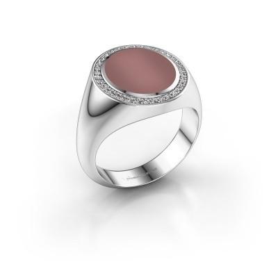Signet ring Adam 3 950 platinum carnelian 13x11 mm