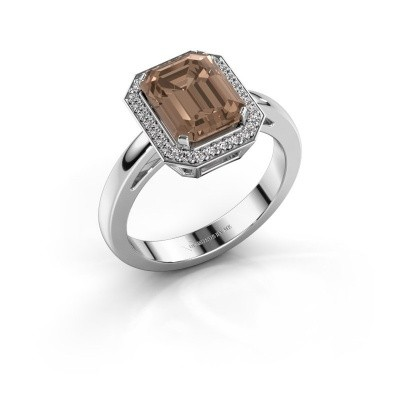 Picture of Engagement ring Dodie 1 585 white gold brown diamond 2.65 crt