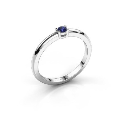 Picture of Engagement ring Michelle 1 950 platinum sapphire 2.7 mm