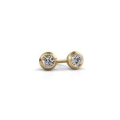Foto van Oorstekers Shemika 585 goud lab-grown diamant 0.15 crt