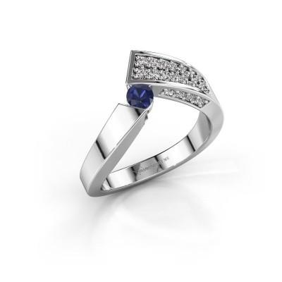 Ring Evie 925 Silber Saphir 3.4 mm