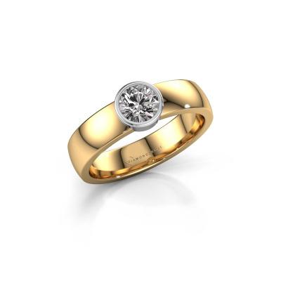 Ring Ise 1 585 gold diamond 0.50 crt
