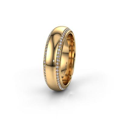 Ehering WH6132L36C 585 Gold Diamant ±6x2.2 mm