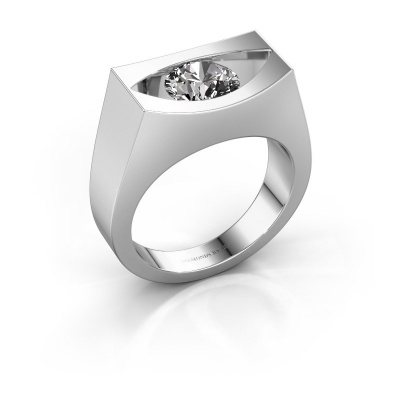 Ring Milou 950 platinum diamond 1.00 crt