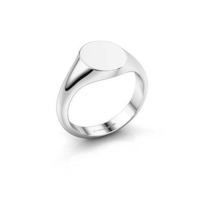 Signet ring Maude 1 375 white gold