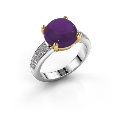 Picture of Ring Sophie 585 white gold amethyst 10 mm