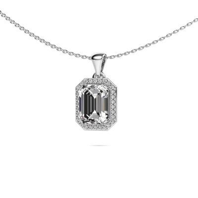 Ketting Dodie 585 witgoud diamant 2.65 crt